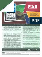 Gabarito Pas Etapa 1 2018