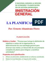 Planificación Administración General