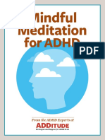 mindful meditation for adhd