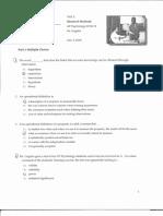 Test 1 - AP Psychology Research methods