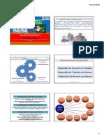 Comportamento Organizacional - Gestão Adm - Fazendão -
