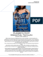 Elizabeth Hoyt - Lenda dos Quatro Soldados 01 - Irresistível Tentação.pdf