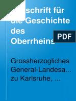 Zeitschrift Für Die Geschichte - Revista para la Historia.