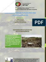 Contaminacion Por Agroquimicos