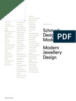 Schmuck Design Moderne