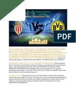 Prediksi Bola as Monaco Fc vs Bv Borussia 09 Dortmund 12 Desember 2018