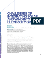 Solar and Wind Integration