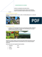 Biodiversidad en Ecuador