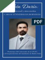 Rubén Darío Poeta Universal Otros Escritos
