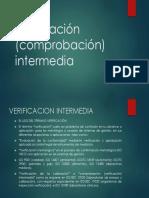 Verificación Intermedia