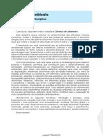 Ciências Do Ambiente-Aulas PDF