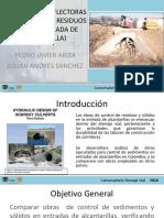 Presentacion Estructuras Deflectoras de Sedimentos y Residuos