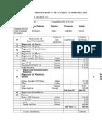 Ficha técnica de mantenimiento de locales escolares 2014