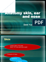 Anatomy Skin, Ear and Nose (Dewi Yl)