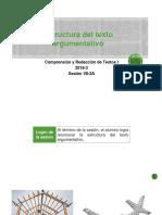 1B-100000N01I Estructura Del Texto (Diapositivas) 2018-3