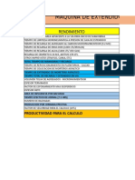 RENDIMIENTO VSS MACROPAVER