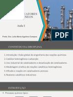 Aula 1  Leila CINÉTICA E REATORES II.pdf
