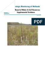 Hydrologic Monitoring of Wetland Sites Guidance 4