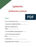 Quimbanda Fundamentos y Practica en Español