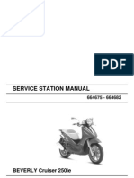 Piaggio Beverly Cruiser 250 Ie Workshop Manual