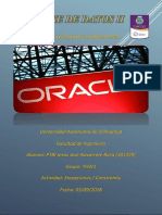 Oracle PL/SQL Exceptions / Constraints
