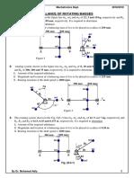 Sheet Rotating Unbalance, Cam (MC) Mechatronics 10-Y18-19