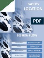 Facility Loaction Group 2(2007)