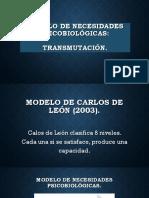 Modelo de Necesidades Psicobiológicas (1)
