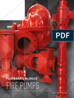Fairbanks Nijhuis Fire Pumps Brochure, General