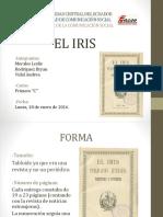 ANÁLISIS PERIÓDICO EL IRIS