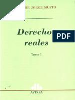 Derechos Reales - Tomo I - Nestor Jorge Musto - PRIMERA SECCION.pdf