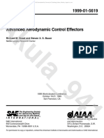 Advanced Aerodynamic Control Effectors