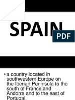 Finao Output of Spain