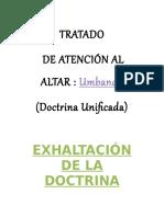 Culto de Umbanda de La Doctrina Unificada ACTUALIZADA16!06!2018