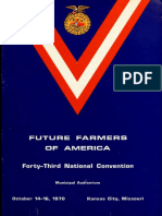 Future Farmers of America - 92 Pags.