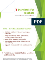 iste standards for teachers final project bethany lytle
