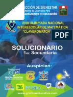 Solucionario 1er Secundaria (1)