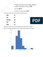 statistics skittles part 3