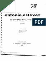 Antonio Estevez 17 piezas infantiles.pdf