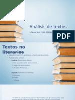 Análisis de Textos