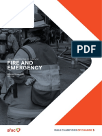 MCC Fire and Emergency Progress Report 2018