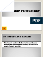 WORKSHOP TECHNOLOGY (1_safety in Machine Shop)