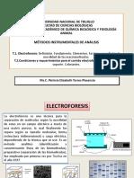 Semana 14 Electroforesis, Factores Que Afectan La Movilidad de Las Moléculas