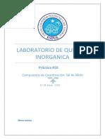 Lab de Inorganica_ Practica 10 _2017