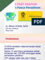 Materi HPP Dr Steven