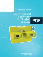 Practical Guide to Better Research and Writing for Design Students