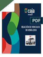 Relacion Vehiculos 15-11-2018