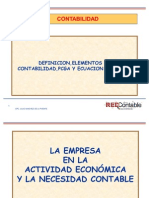 Fundamentos de Contabilidad,Pcga,Ecuacion Contable