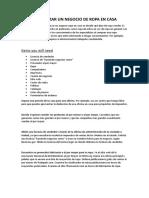 CÓMO COMENZAR UN NEGOCIO DE ROPA 2.doc