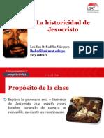 La Historicidad de Jesucristo